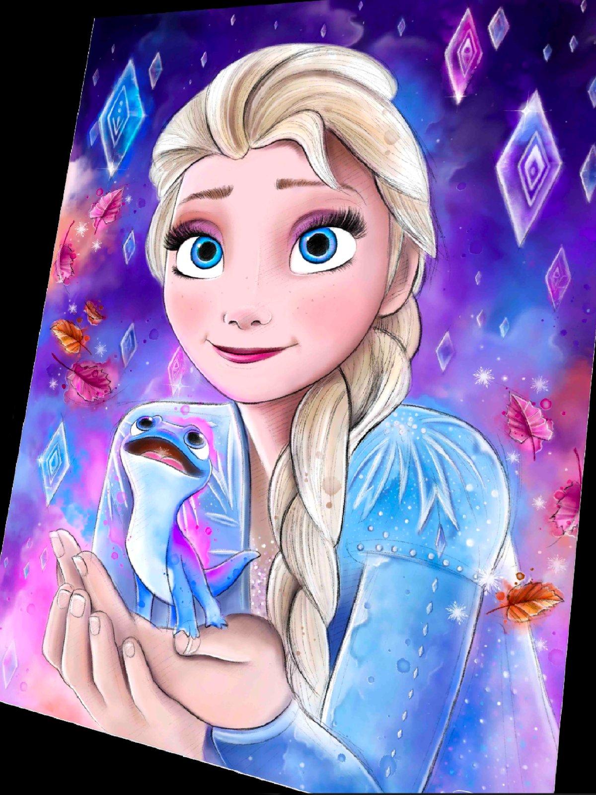 Elsa y Bruni - Frozen 2