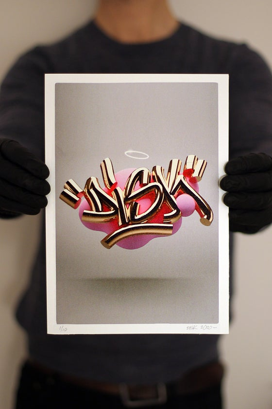 Image of Gold 1, Limited Edition A4