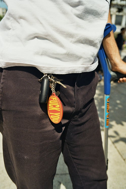 Image of Fuck You Keychain