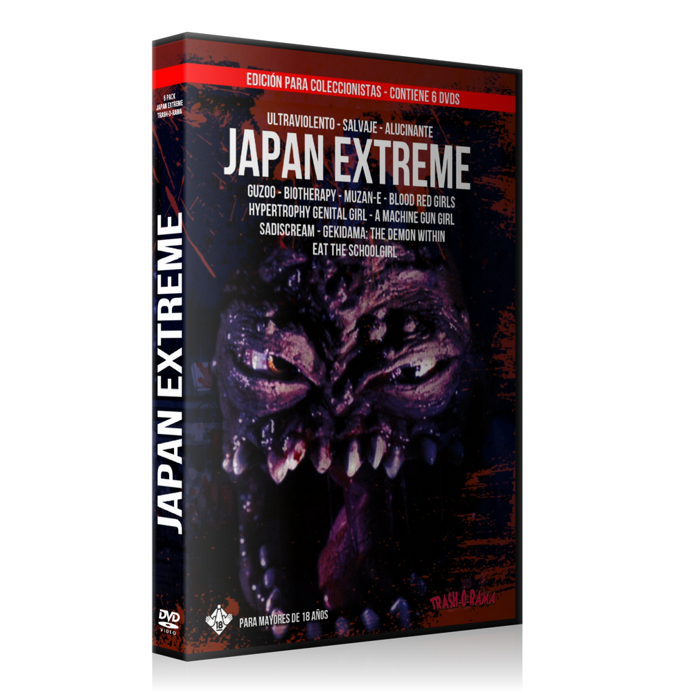 Image of Pack 6 DVD JAPAN EXTREME
