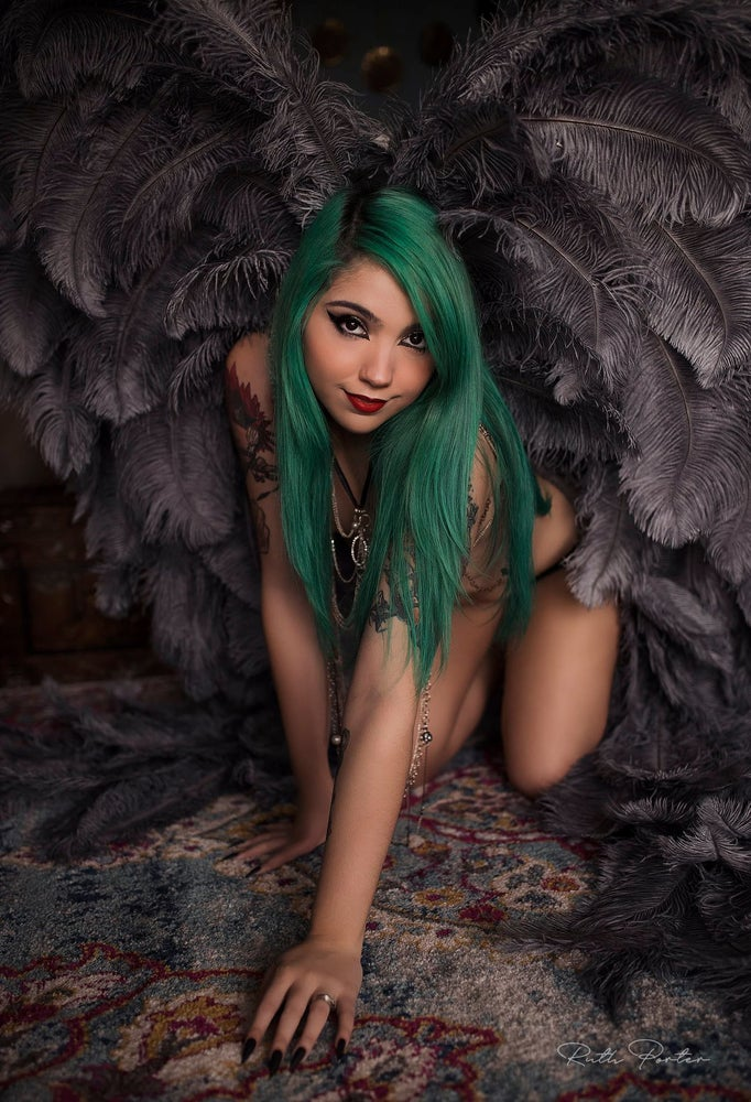 Image of PAYMENT PLAN Adult Full Length Angel Wings (PAYMENT 1/2)