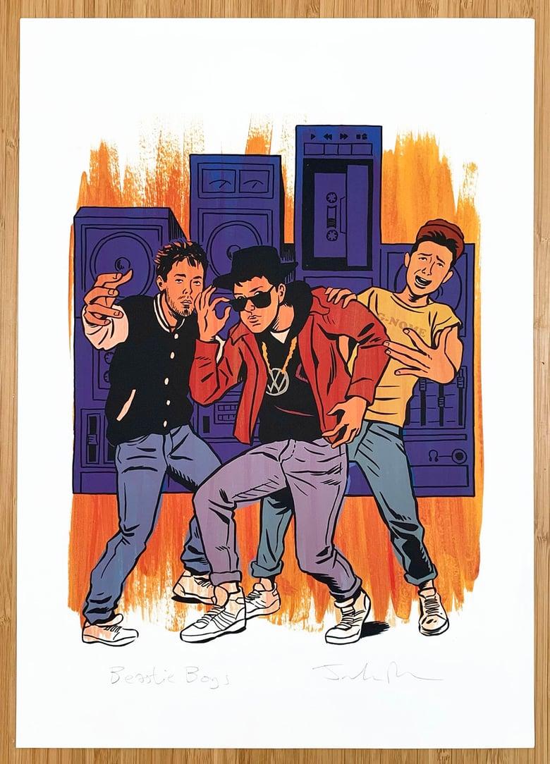Image of Beastie Boys print