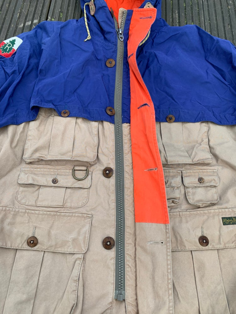 Image of Old Ralph Lauren hunting jacket