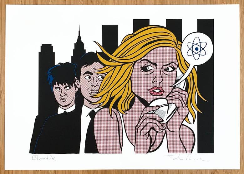 Image of Blondie  print