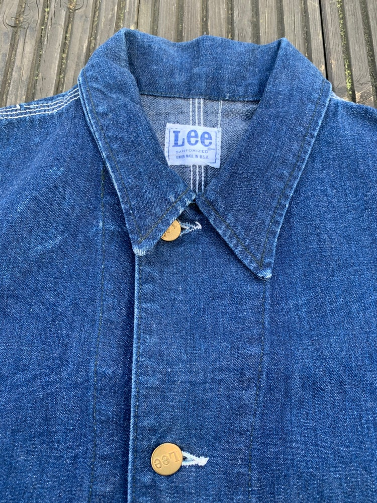 Image of Vintage 60s Lee chore work jacket
