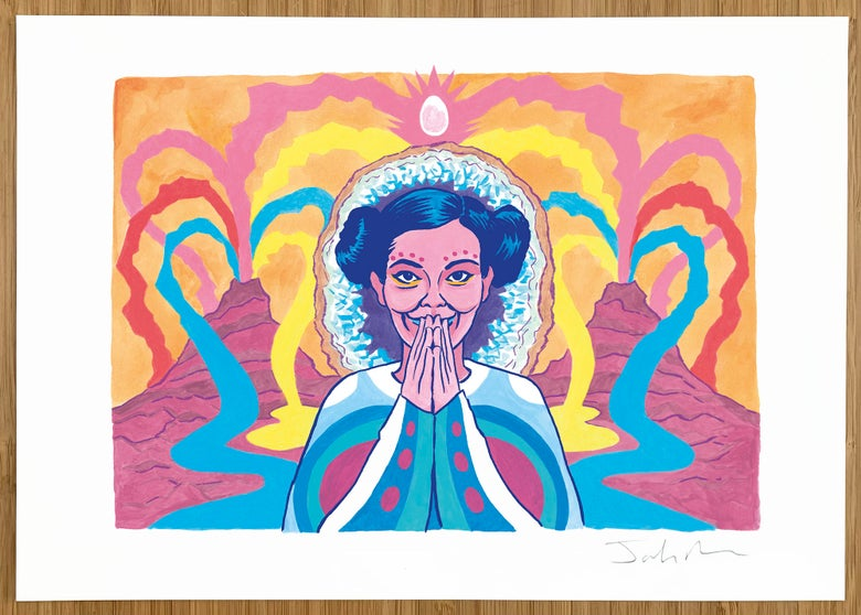 Image of Björk print