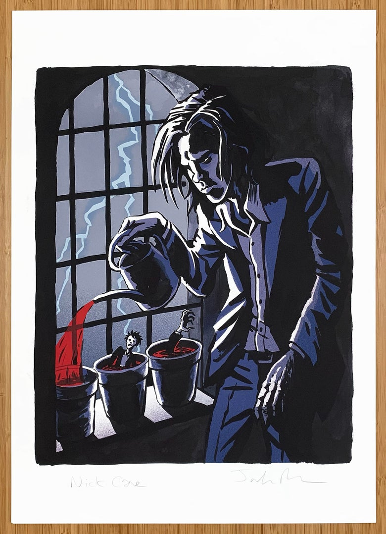 Image of Nick Cave print