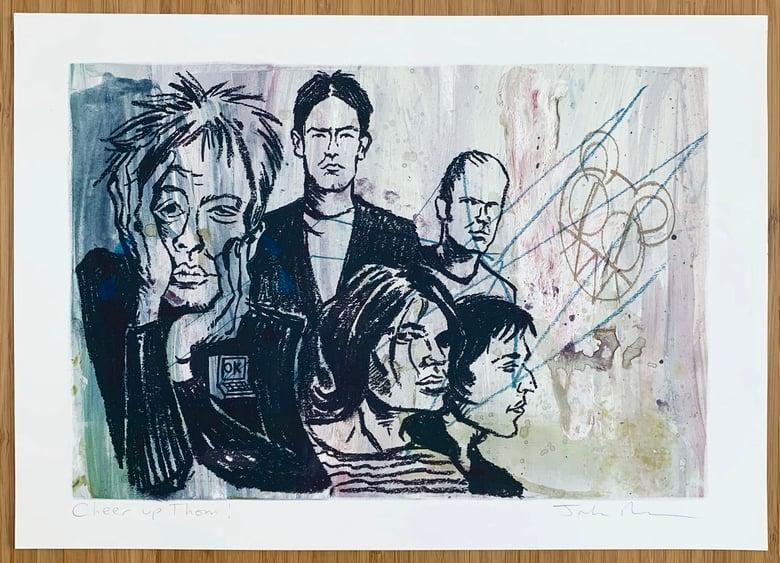 Image of Radiohead print