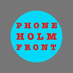 Image of Holm Front pin badge