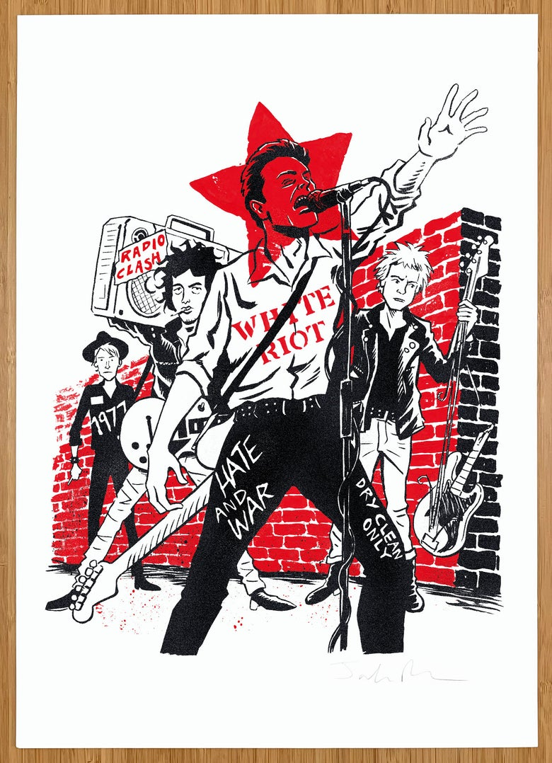 Image of The Clash print