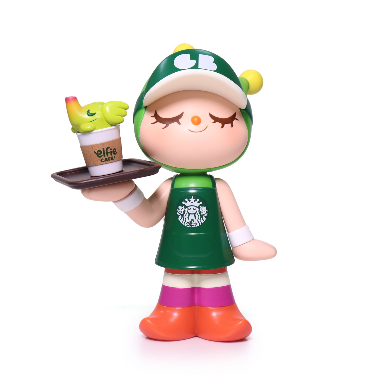 Image of ELFIE'S CAFE WAITRESS GREENIE (GREEN OUTFIT EDITION)