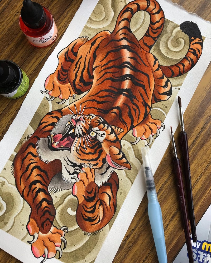 Image of Red Tiger