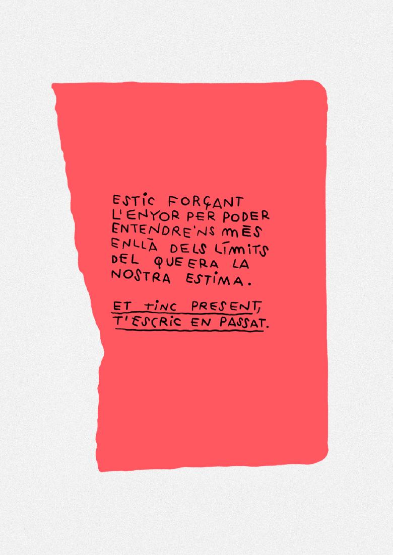 Image of  💖 ET TINC PRESENT, T'ESCRIC EN PASSAT 💖