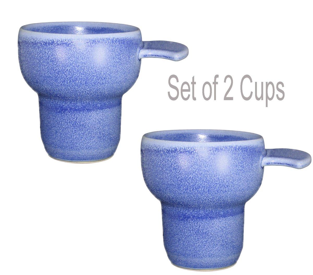 Flange Grip - 2 Porcelain Cups