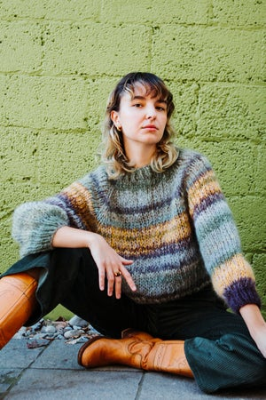 Image of Kelowna Sweater (One of a Kind - Khaki shown) more colour options