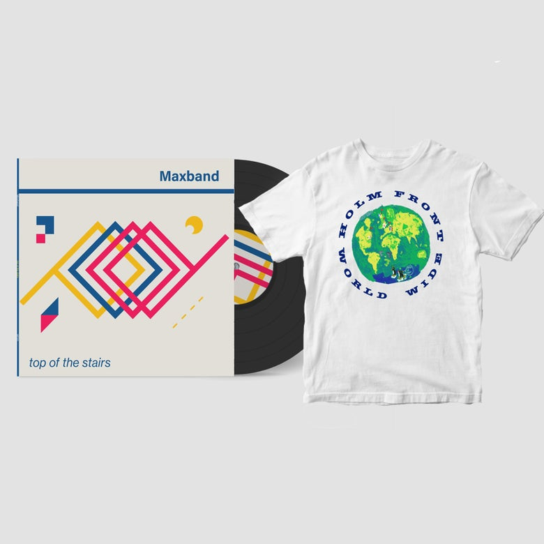 Image of Maxband 12-inch EP | Holm Front T-shirt