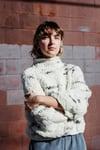Faro Sweater of Targhee & Alpaca spun wool