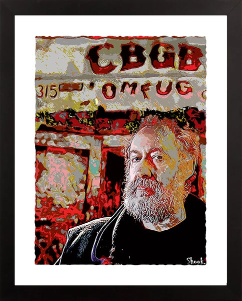 "Image of CBGB NYC Giclée Art Print - 11"" x 14"""