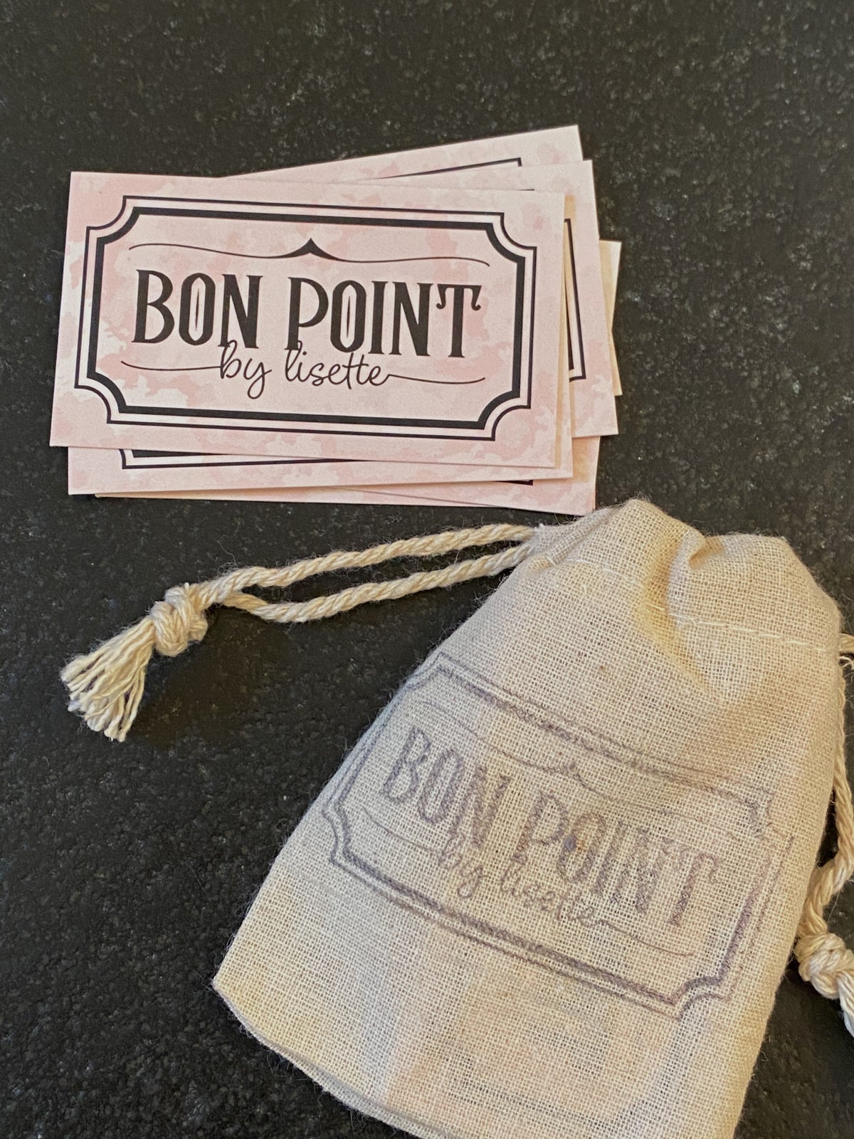 Image of La pochette BON-POINT