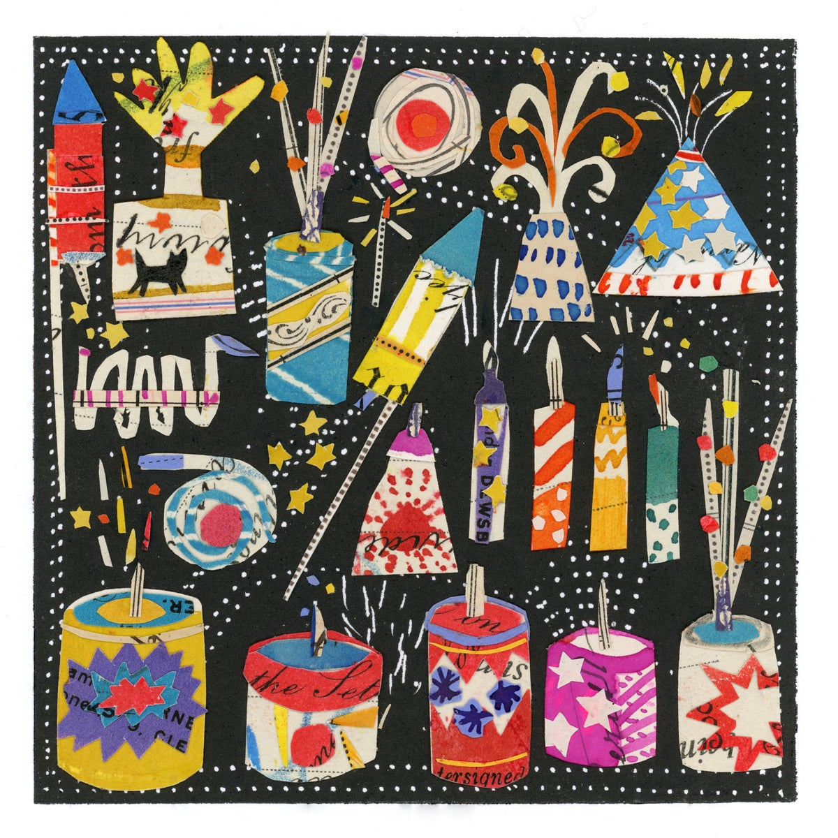 Image of Fireworks....Giclee Print