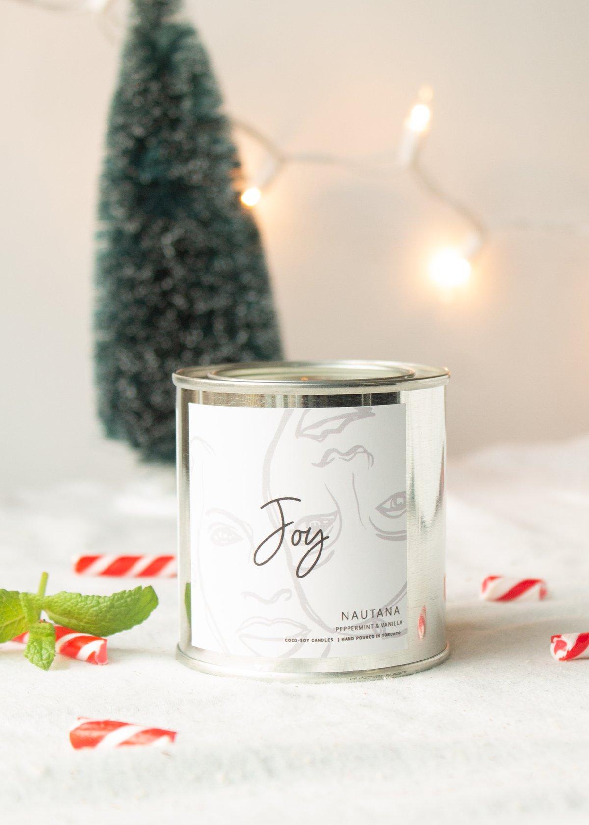 Image of Joy - Peppermint & Vanilla Candle