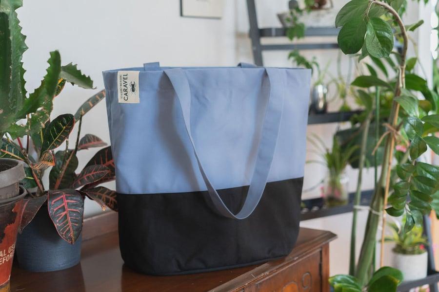 Image of Sac fourre-tout / Bleu cobalt