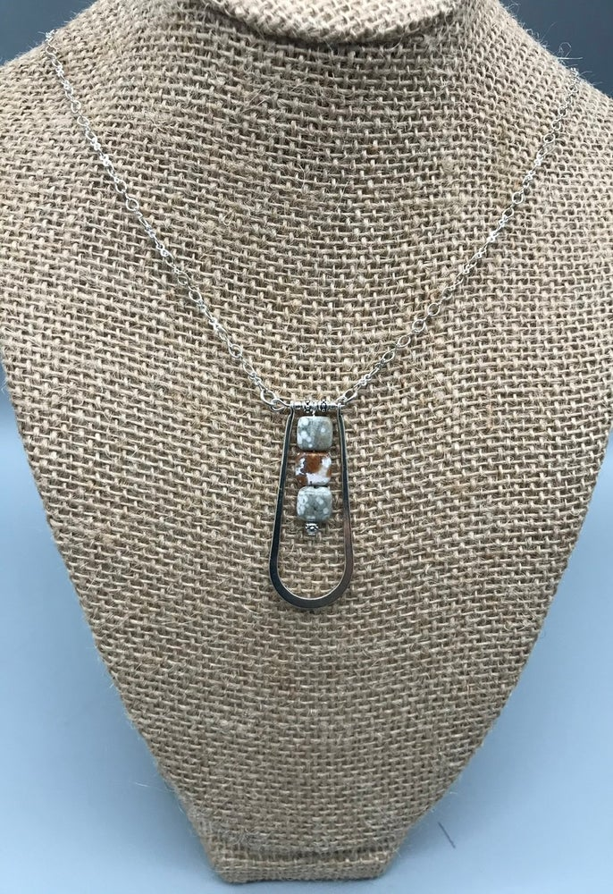 Image of Jasper Trio Necklace