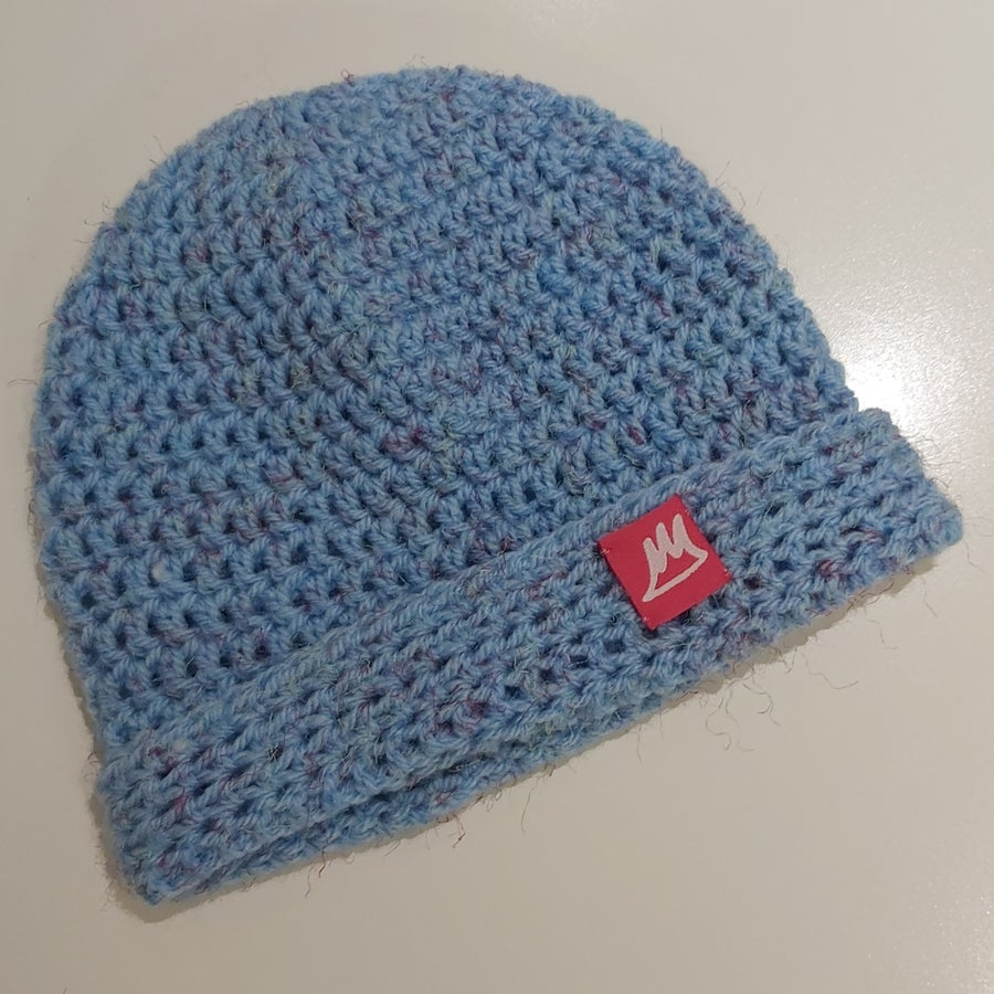 Image of Baby Blue Beanie - Toddler