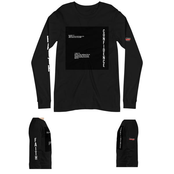 Image of CONFIDENCE Long Sleeve T