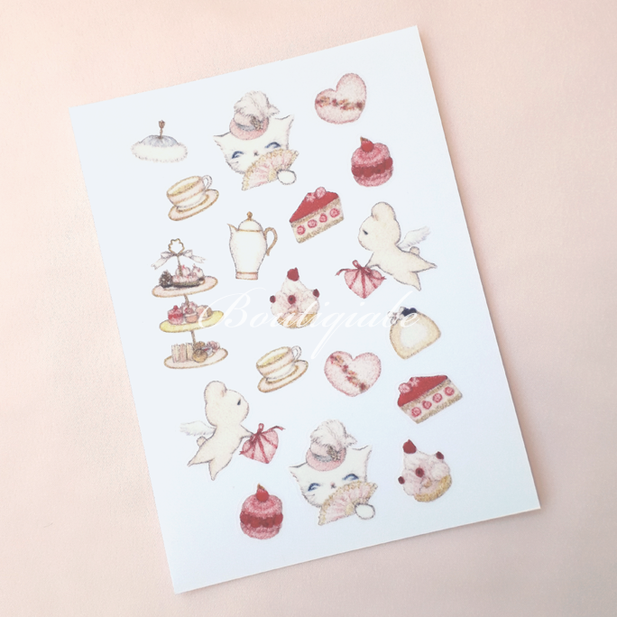 Image of Afternoon Tea Of Love Stickers