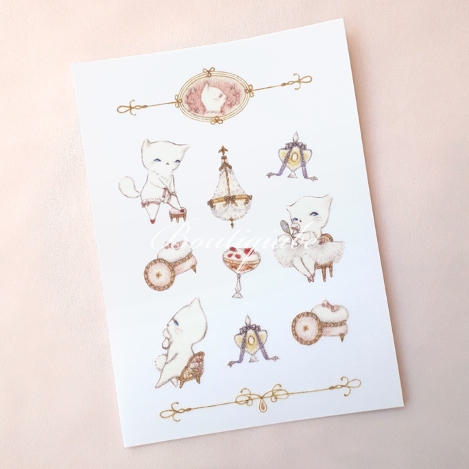 Image of Puff-ectly Boudoir Stickers