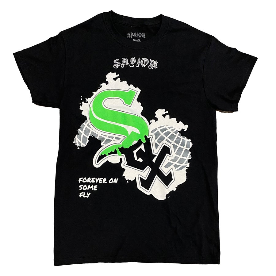 Image of SAVIOR WHITE SOX WORLDWIDE TEE