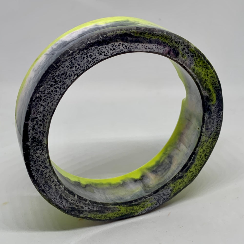 Image of Ashtray Bracelet Yellows and Greys