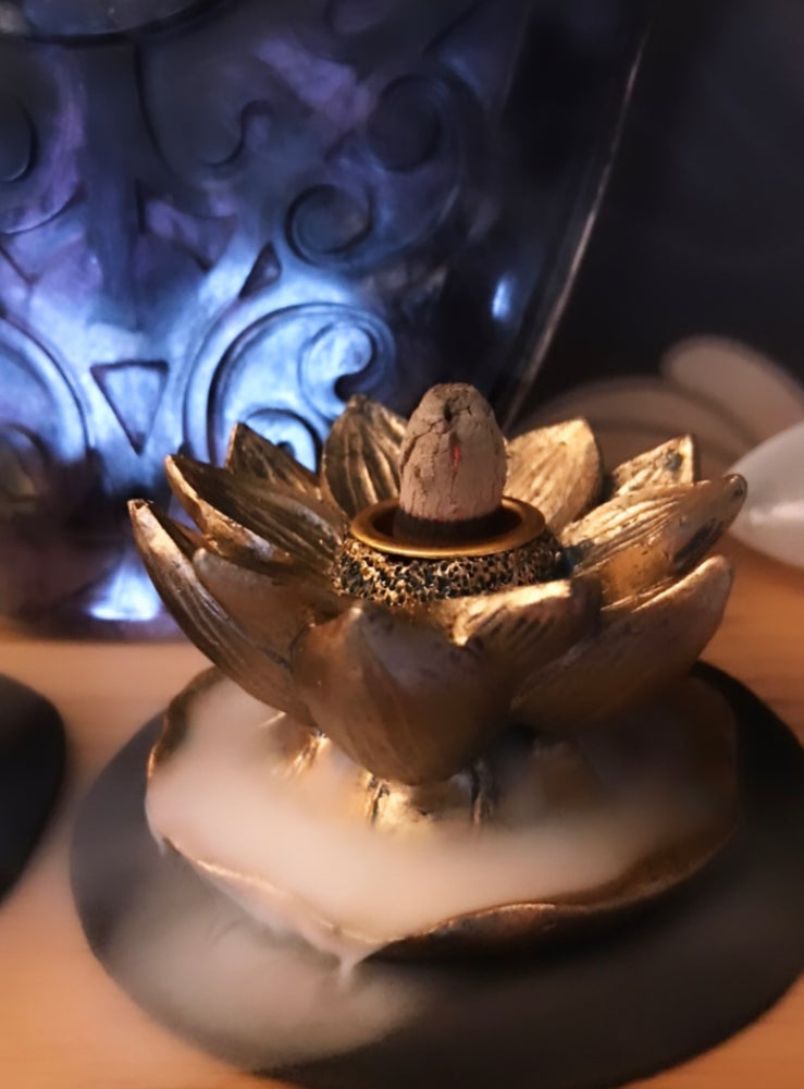 Image of Lotus Back Flow Incense Burner