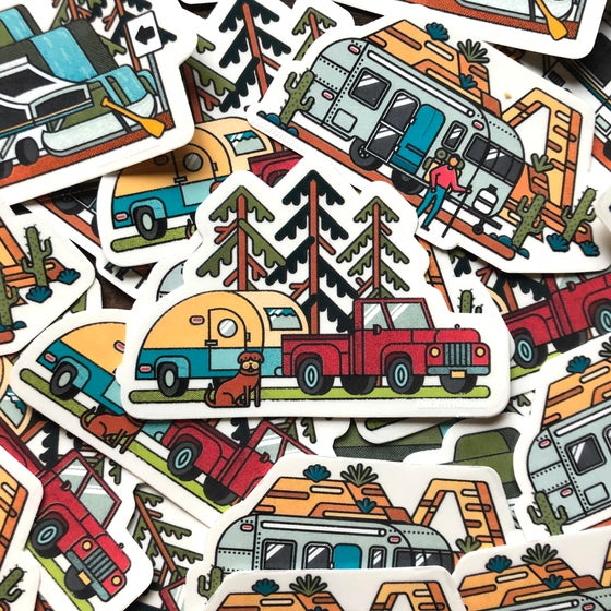 Image of Camping Sticker Pack