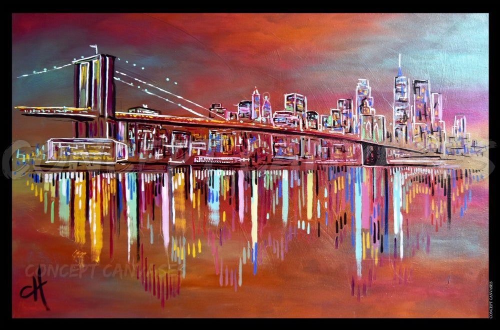 Image of New York 'Pocketful Of Dreams' A1 Print (Large)