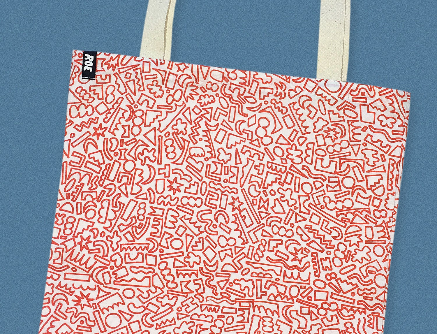 Image of RED SHAPES BAG