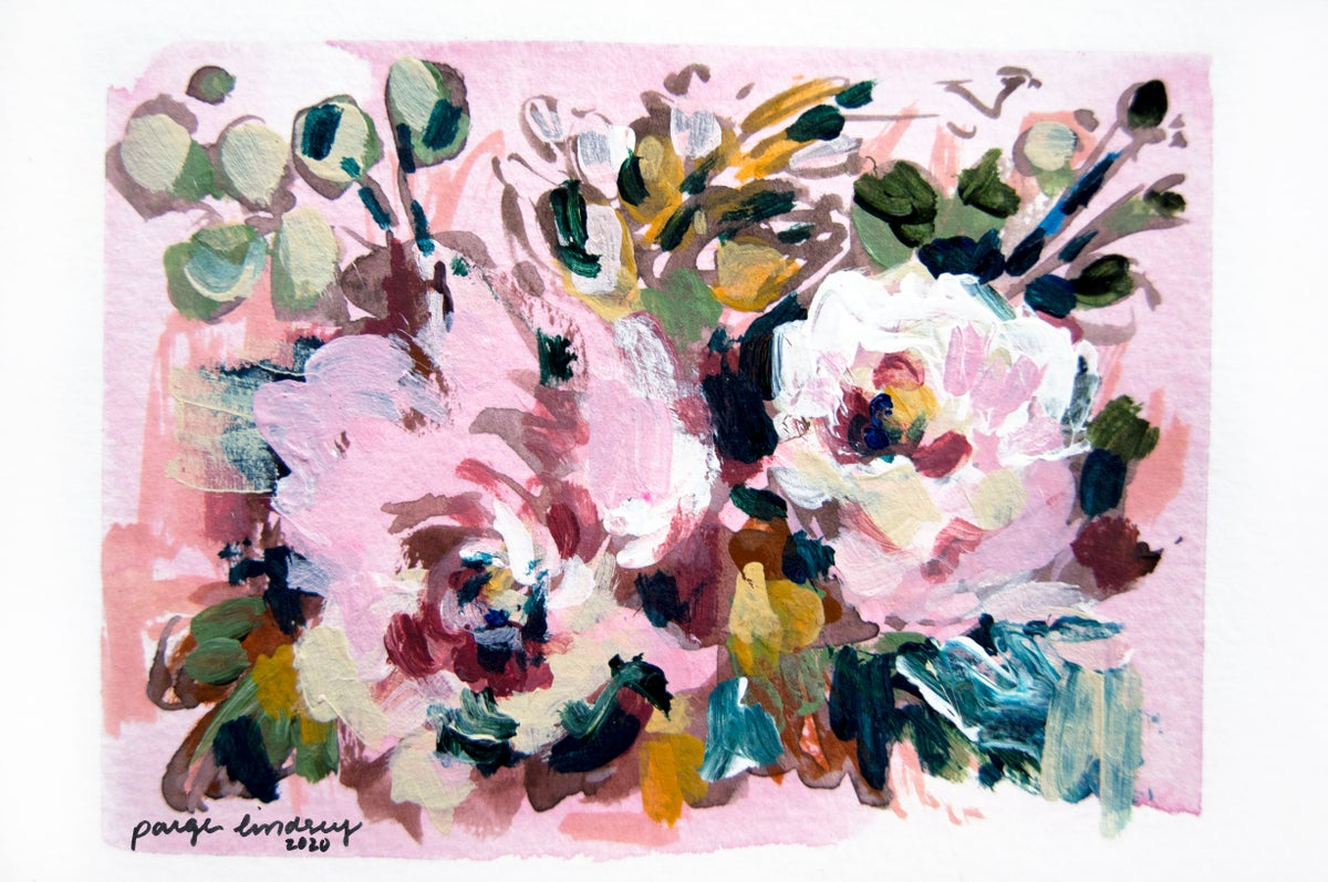 Image of Rosie's Flower Print II