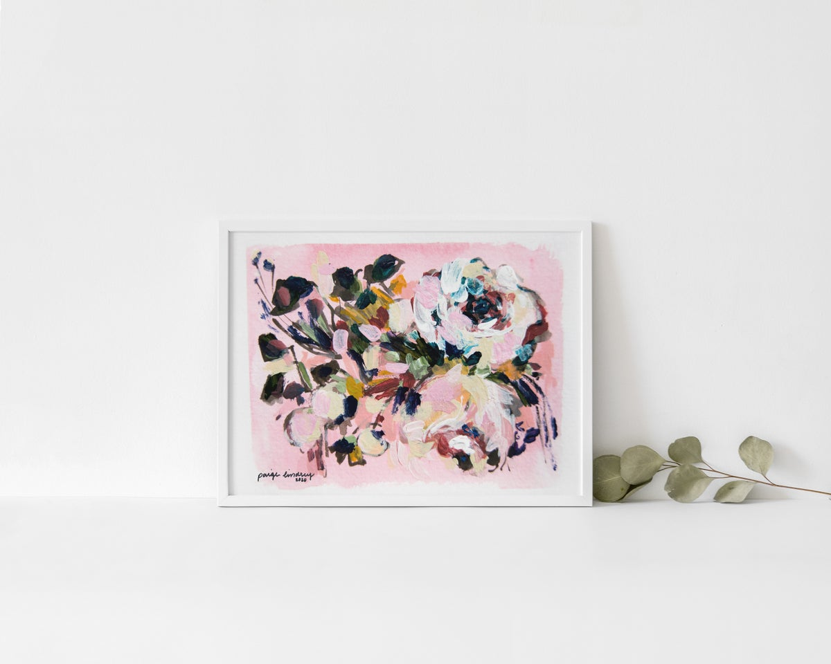 Image of Rosie's Flower Print IV