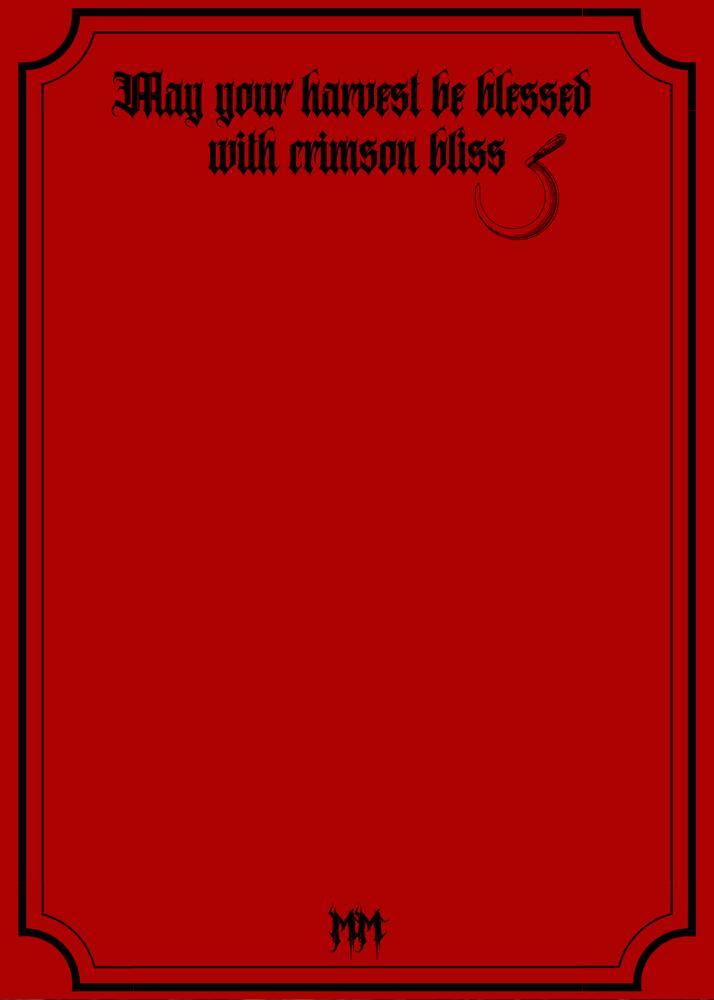 Image of Season's Reapings Greeting Card 5 Pack
