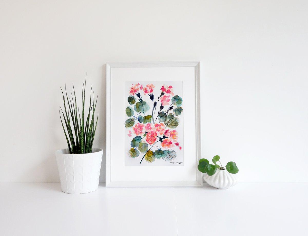 Image of Petite Flower Print