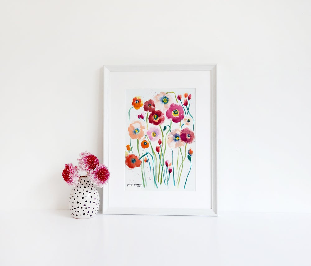 Image of Poppies Print