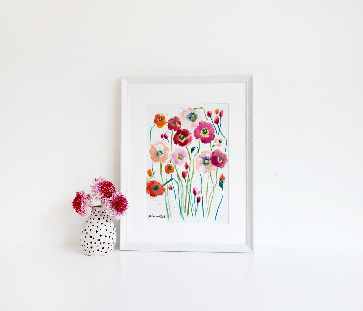 Image of Poppies Print
