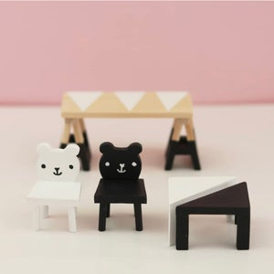 Image of Lundby - DIY Table and Chairs Set