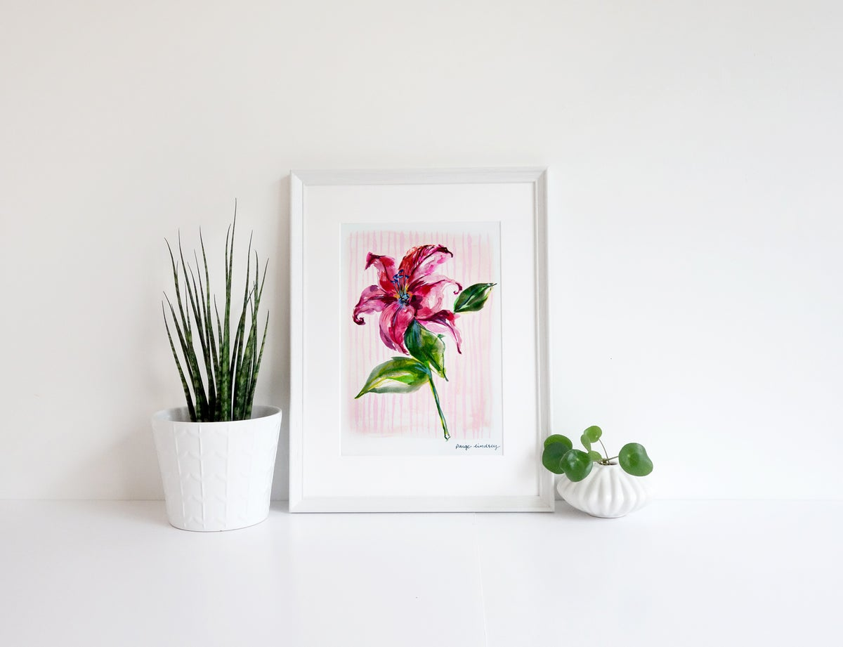 Image of Lilly Print