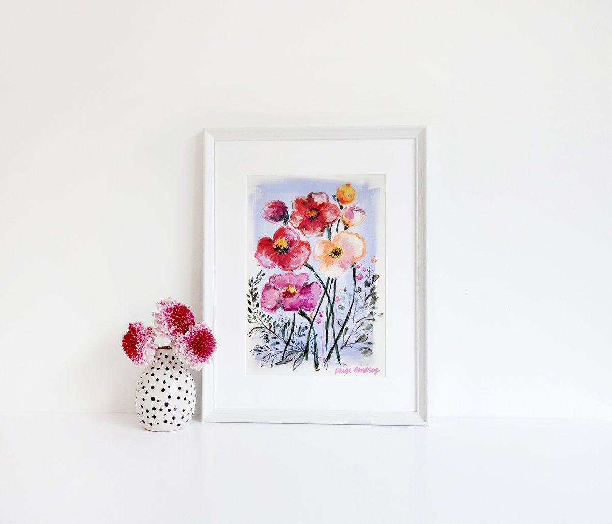 Image of Iceland Poppy Print