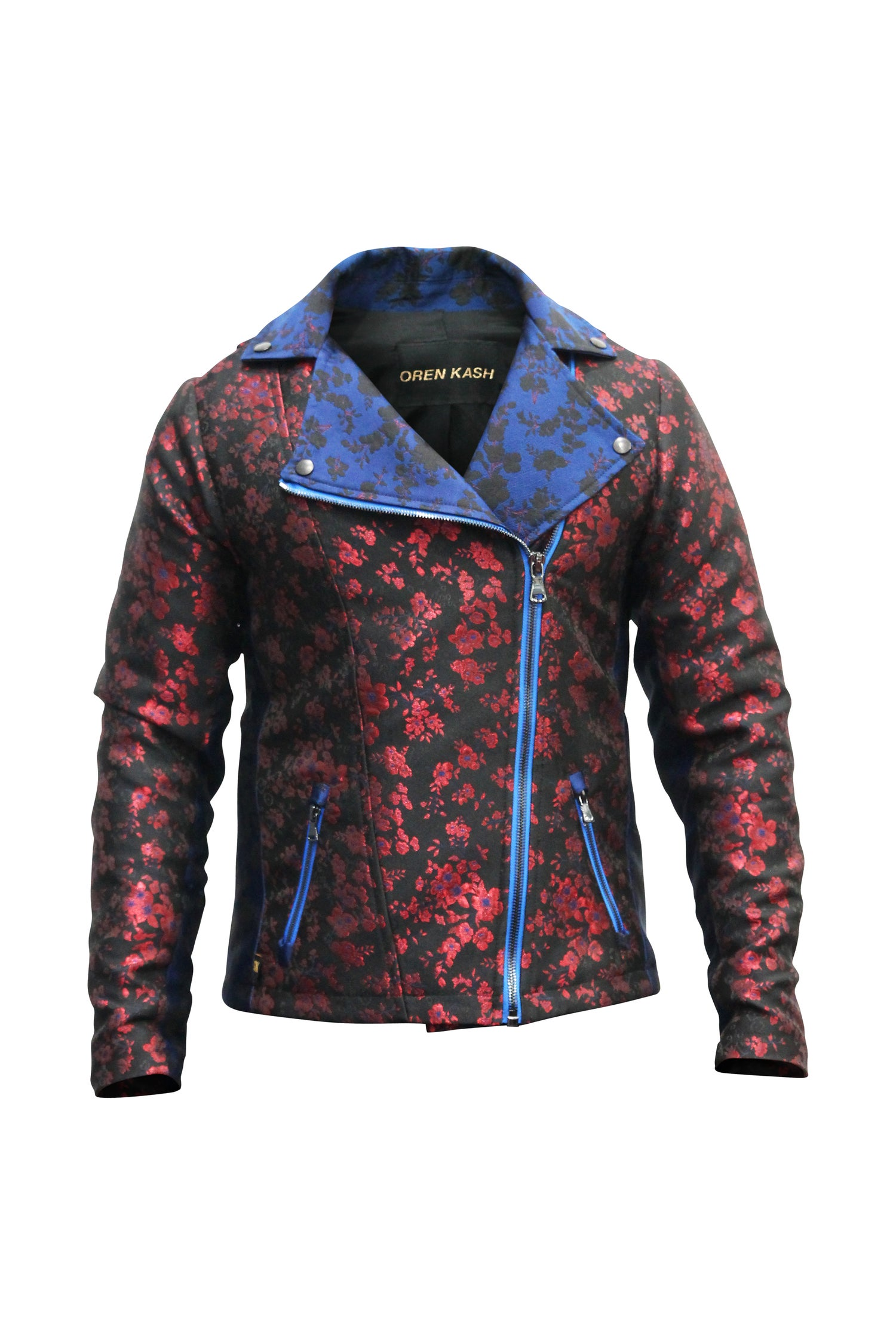 Image of Royal Brocade Floral Moto