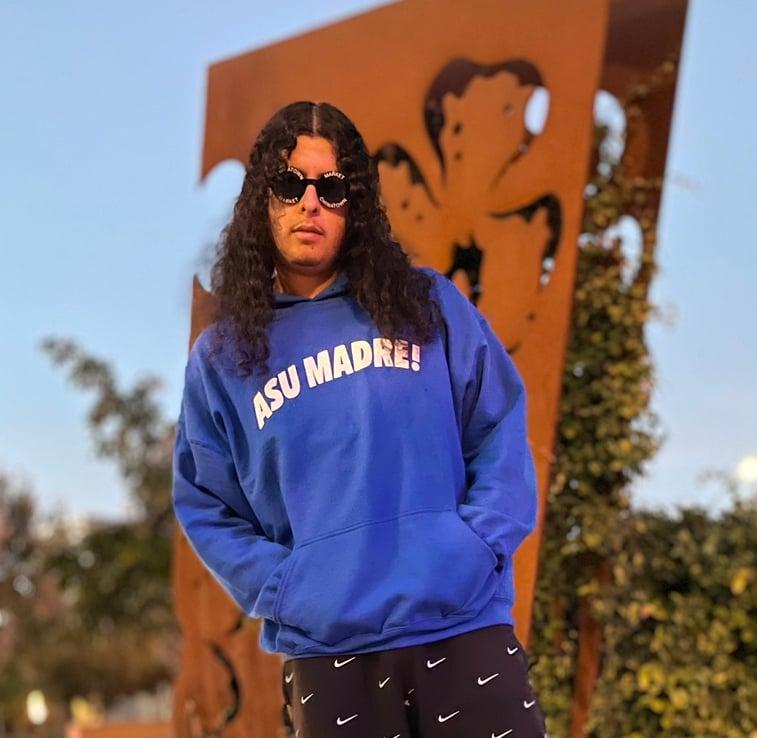 Image of Asu Madre! Hoodie Royal Blue