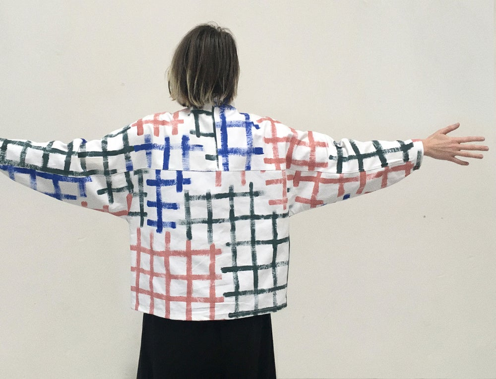 Image of GRID LONG SLEEVE SHIRT