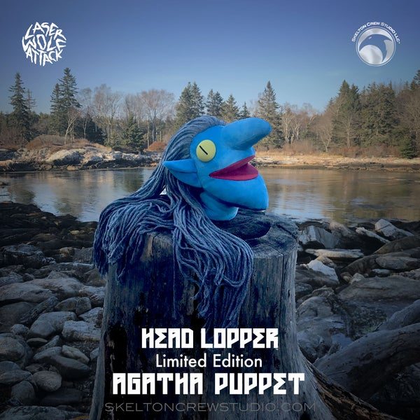 Image of Head Lopper: Limited Edition Agatha Puppet with Canvas Map of Narschlahn!